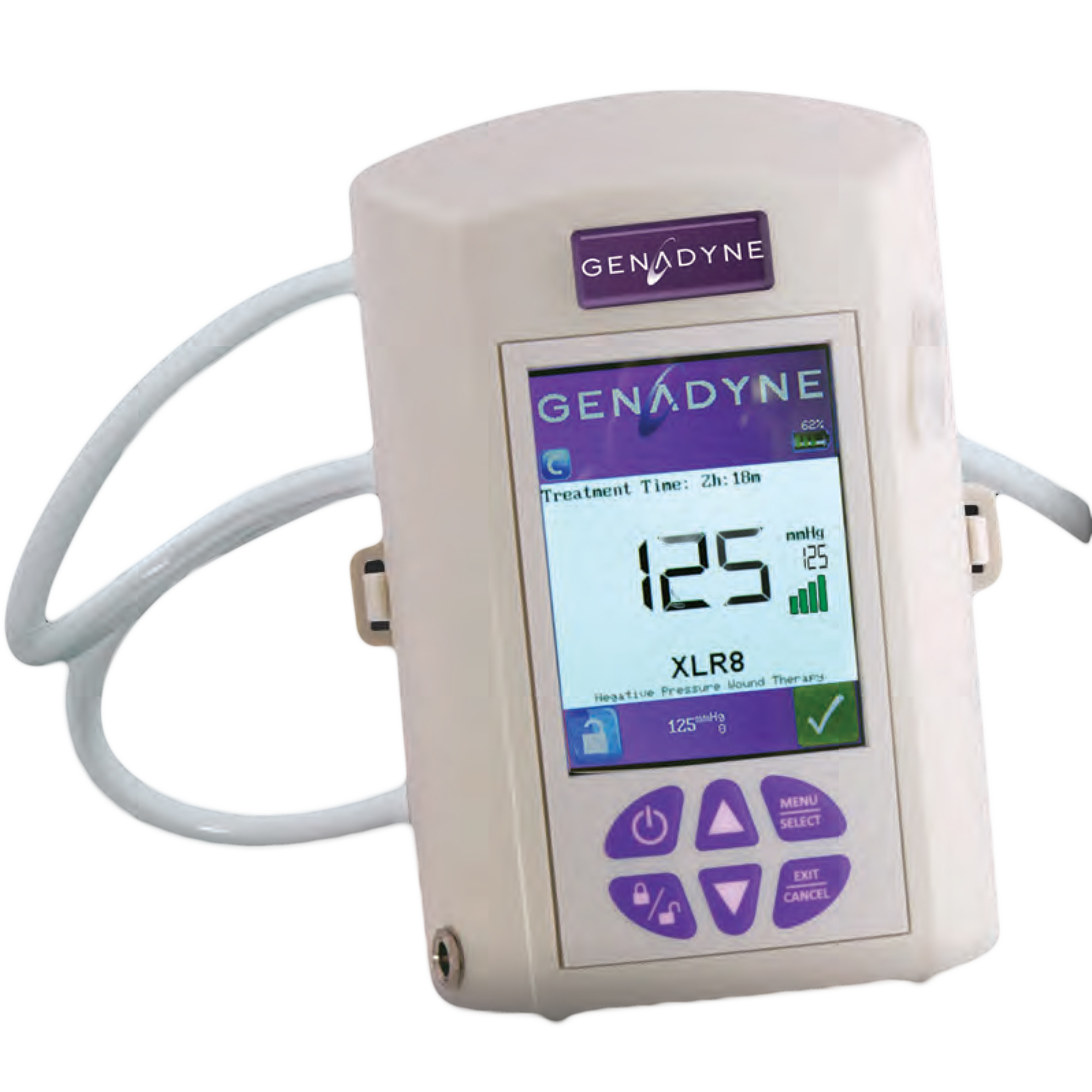 Genadyne XLR 8 Wound Vacuum | The Negative Pressure Therapy Store